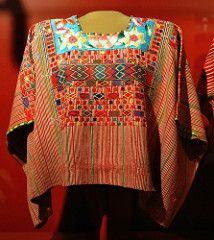 Huipil Maya Guatemala (Teyacapan) Tags: clothing maya guatemala museo textiles chiapas ropa vestimenta huipiles huipils sanildefonsoixtahuacan