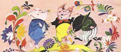 Сказочные Иллюстрации: Janet and Anne Grahame-Johnstone - Три Поросёнка