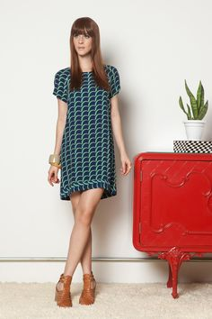 VESTIDO VALLEY YOUNG AZUL - totemstore