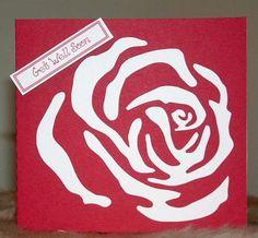 Rose Stencils   Printable rose stencil - Jersey Surf School