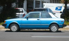 My very first car...1981 Toyota Corolla Tercel Coupe. I remember the paint ran off this car when it rained. I loved this car and hated it at the same time. It was sooo ugly, but it was my wheels to get my teenage broke butt where it needed to go!