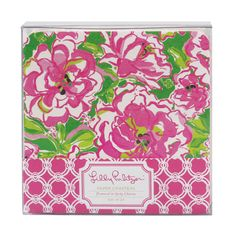 Lilly Pulitzer Paper Coasters - Lucky Charms Green | Lifeguard Press $12
