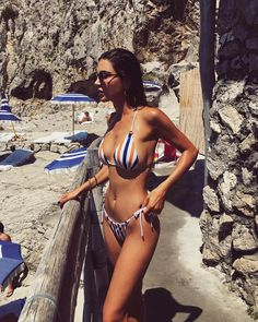 "318f4365ec03d Negin Mirsalehi on Instagram  ""Capri Memories."" Bikini ..."