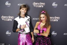 Fourth place:Nev Schulman, 36, and pro Jenna Johnson, 26, also finished near the top in fourth place with 26 points for their quickstep to the A-ha song Take On Me Nev Schulman, Jenna Johnson, Hannah Brown, Jesse Metcalfe, Dancing With The Stars, Tango, Tv Shows, Fashion, Moda