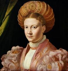 Portrait of a young woman, possibly Countess Gozzadini - Parmigianino  Картины Эпохи Ренессанса, Одежда 72bc10ed726