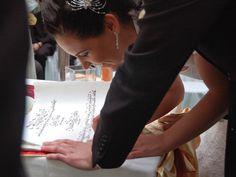 ESKÜVŐI KALLIGRÁFIA: Kézzel írt  házasságlevél, hand lettered marriage certificate :) 12000.- Ft-tól