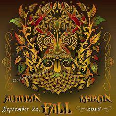 FINALLY! #fall is here!  www.celtichammerclub.com  #celtichammerclub #apparel #fall #autumn #autumnequinox #mabon #pumpkin #leaves #changingleaves #greenman #nature #wheeloftheyear