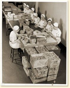 Women in the Workforce: In 1942 Ottawa registered all women born between 1918 and 1922.  The women would have been between 20 and 24.  They were registered in to the Selective Service to meet possible labor shortages.