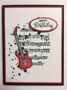 Epic Celebration Beautiful Bouquet Swirly Bird Sheet Music 2018 Sale-a-Bration Birthday Card Baby Boy Cards Handmade, Handmade Birthday Cards, Baby Cards, Kids Cards, Greeting Cards Handmade, Birthday Cards For Boys, Masculine Birthday Cards, Happy Birthday Cards, Masculine Cards