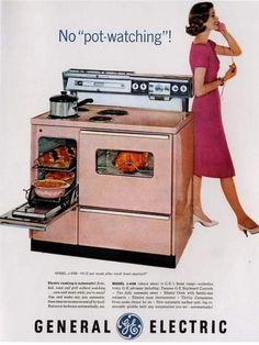 Retro Advertising, Retro Ads, Vintage Advertisements, Vintage Ads, Vintage Kitchen Appliances, Home Appliances, 1950s Ads, 1960s, Discount Appliances