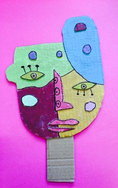À la manière de Kimmy Cantrell  5ème année Cardboard Art, Cycle 3, Tree Branches, Collage Art, Art For Kids, Art Projects, Art Pieces, Arts And Crafts, Garden