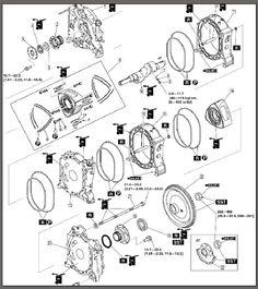 ENGINE V50 B CRANKCASE, CRANKSHAFT, CYLINDER Vespa