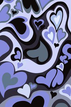 Hippie Wallpaper, Heart Wallpaper, Iphone Background Wallpaper, Cool Wallpaper, Purple Wallpaper, Cute Patterns Wallpaper, Aesthetic Pastel Wallpaper, Aesthetic Backgrounds, Aesthetic Wallpapers