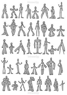 Body Reference Drawing, Drawing Reference Poses, Drawing Poses, Body Base Drawing, Drawing Tips, Cartoon Body, Body Drawing Tutorial, Cartoon Drawing Tutorial, Drawing Expressions