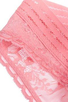 Stella McCartney - Breast Cancer Awareness Stella Stretch-lace Briefs - Pink - large