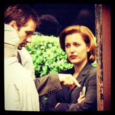 It's all about Gillian Anderson