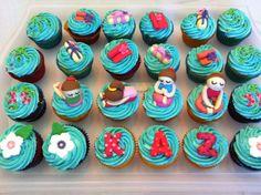More yoga cupcakes