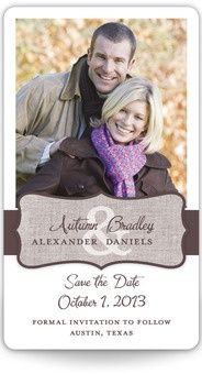 Mini Save the Date Magnets - Enchanted Encounter wedding-ideas