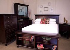 Browse high-quality, American made, solid wood furniture available from Adirondack Furniture in Utica NY . Solid Wood Furniture, Accent Furniture, Bedroom Furniture, Adirondack Furniture, Oak Tree, Beautiful Homes, Beautiful Things, Cool Diy, Master Bedroom