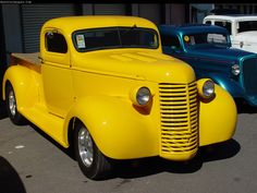 Image detail for -1939 MODEL - CHEVROLET PICKUP YELLOW | Car Pictures