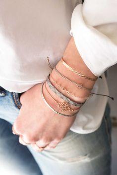 Edelstahl Armreif rosé vergoldet Schmuck Design, Bangles, Bracelets, Gold, Jewelry, Fashion, Bangle, Neck Chain, Gemstone Earrings