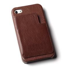 Allen Edmonds Leather iPhone 5 Case 550BRN Brown Leather