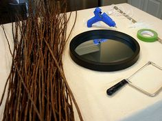 Isabella & Max Habitaciones: Un Proyecto Sunburst Mirror...construccion de espejo con rayos de de ramas