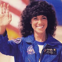 This week's is Judith Resnik. Electrical Engineer and Astronaut With a bachelor's degree, Resnik went to work with RCA. She was assigned first to the missile and service radar division and then. Nasa Astronauts, Space Disasters, Space Shuttle Challenger, Nasa Space Program, Space Travel, Moving Forward, Spacecraft, Protractor, Beginning Sounds