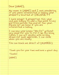 2a3d3dc370fb7ca3510e080a435774d9--real-estate-letters Absentee Owner Letter Template on abc letter template, resolution letter template, acceptance letter template, provisional letter template, absent letter template, online letter template, military letter template, promissory letter template, absence letter template,