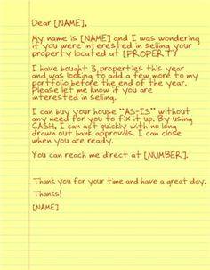Yellow Letter Investor 3