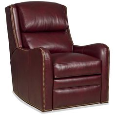 Made in America. Price will vary depending on Leather or Fabric selection. Price may not be for product as shown. Please Call for details. Shown in 9049-69 leather. Also available as a Recliner (3076). Overall size: 30 in. W x 40 in. D x 40.5 in. H, Arm Height: 25.5 in., Seat Height: 21 in.<br />LIMITED-LIFETIME WARRANTY:<br />The wooden frame parts are warranted against defective materials and workmanship for the useful life of the chair, based on reasonable use. Bradington-Young will, at…