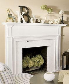 Image result for non working fireplace decoration
