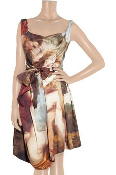 Vivienne Westwood Anglomania Friday printed cotton dress - 60% Off Now at THE OUTNET Beautiful details