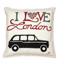 JAN CONSTANTINE London taxi cushion