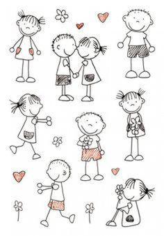 Drawing people kindergarten stick figures ideas for 2019 Doodle Drawings, Doodle Art, Easy Drawings, Doodle Kids, Sketch Notes, Stick Figures, Pebble Art, Stone Art, Stone Painting