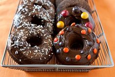 Gluten-Free Triple Chocolate Donuts. Amazing blog for all types of gluten-free & vegan recipes. Also, this blogger has a 2013 cookbook coming out!