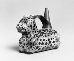 Jaguar Whistling Jar | Moche, ca. 500–900. The Met | Pre-Columbian |