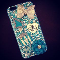 iPhone 6 Plus Case & iPhone 6s Plus Case. This case will fit an iPhone 6 Plus and an iPhone 6s Plus. Cheaper on my etsy shop only $30! www.BedazzledBliss33.etsy.com Tiffany & Co. Accessories Phone Cases