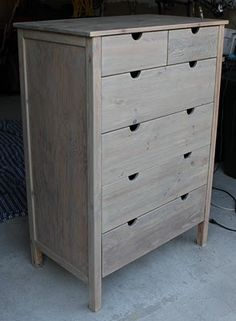 How To Get The Weathered Finish For Boys Furniture