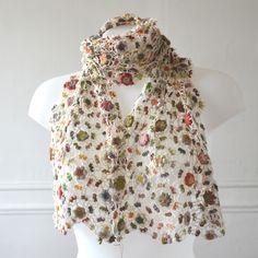 Sophie Digard crochet - Rainforest scarf