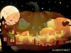 Un poco de historia de halloween... https://www.cuarzotarot.es/blog/posts/historia-halloween #Octubre  #Halloween #FelizLunes #Brujas
