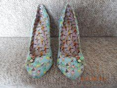 Irregular Choice  Cortesan Icecream Court   size 5 Light Blue shoes