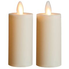 Boston Warehouse Mystique Battery-operated Flameless Candle (3 2-Pack Votive Ivory), Beige Off-White (Plastic)