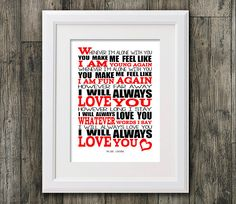 The Cure Love Song 8x10 picture mount & Print by RTprintdesigns