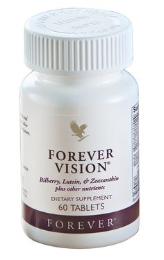 Forever Vision - contains bilberry, lutein and zeaxanthin, which can improve the circulation to the eyes to support normal healthy eyesight and help protect the eyes from degeneration, particularly in the macula area of the retina.