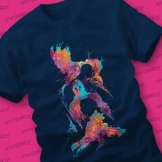 Abstract Guardians of the Galaxy T-Shirt | ShirtPunch! | The World's Favorite Shirt Shop | ShirtPunch