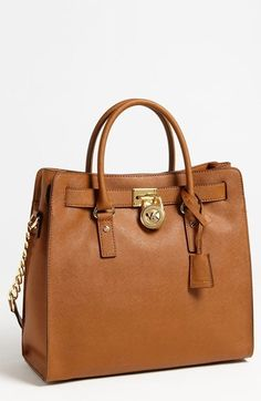 MICHAEL Michael Kors 'Hamilton - Large' Saffiano Leather Tote