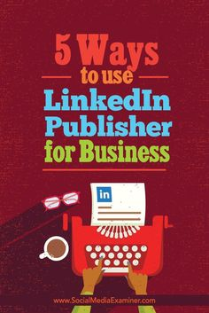 Looking for a way to promote your business to a professional audience?  Using a few simple tactics, LinkedIn Publisher can support business owners in their efforts to get more referrals, leads, and sales.  In this article youll discover five ways LinkedI