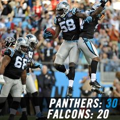 Panthers pounce on Falcons for big wi