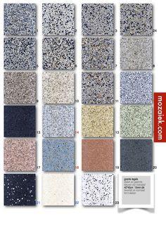 granito tegels 40x40x1,5cm